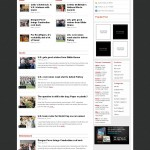 news flash is a premium wordpress magazine  theme