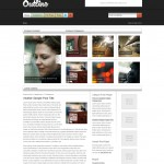 outline is a premium wordpress magazine  theme