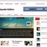 the gazette edition is a premium wordpress theme
