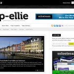 wp-ellie is a premium wordpress magazine  theme