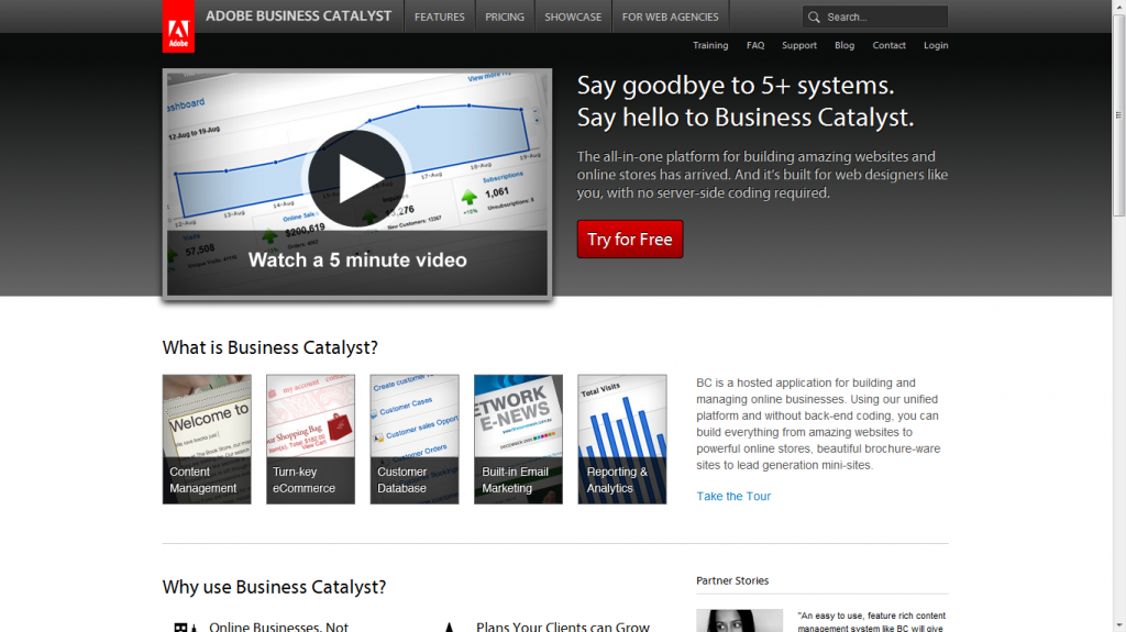 Biz Catalyst CMS